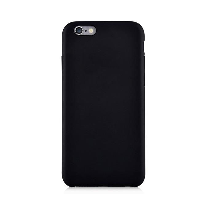 Калъф за Apple iPhone 6/6S+, страничен протектор с гръб, поликарбонат, Devia CEO2, черен image