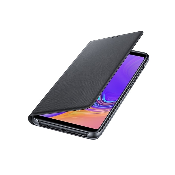Калъф за Samsung Galaxy A9 (2018), A920, тип Flip Wallet, черен image