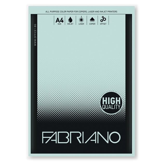 Fabriano A4, 160 g/m2, светлосин, 50 листа product