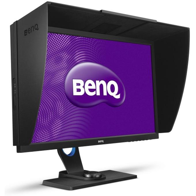 """Монитор 27"""" (68.58 cm) BenQ SW2700PT (9H.LDKLB.QBE), IPS панел, WQHD, 5ms, 20 000 000:1, 350 cd/m2, USB, DP, HDMI, DVI image"""