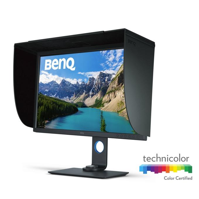 """Монитор BenQ SW320 (9H.LFVLB.QBE), 31.5"""" (80.01 cm) IPS панел, 4K Ultra HD, 5ms, 350 cd/m², DisplayPort, mDisplayPort, HDMI, USB image"""
