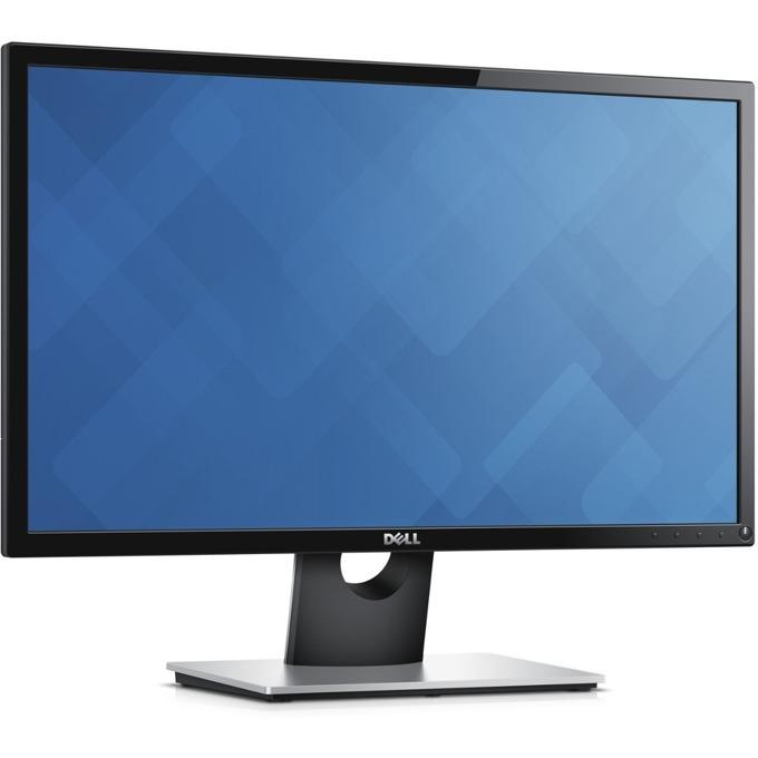 """Монитор Dell SE2416H, 23.8"""" (60.45 cm) IPS панел, Full HD, 6ms, 8 000 000:1, 250 cd/m2, HDMI, VGA  image"""