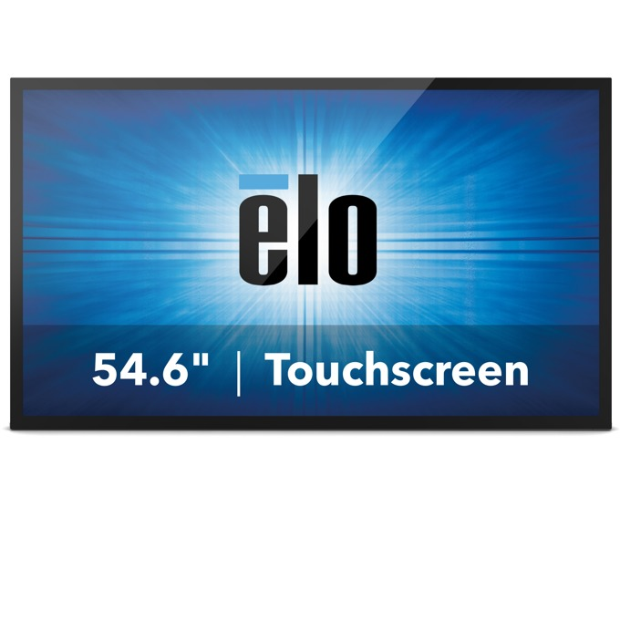 "Интерактивен дисплей ELO ET5543L-2UWA-0-MT-D-G, 54.6""(138.6 cm), Full HD, Projected capacitive 10-point touch, VGA, HDMI, черен image"