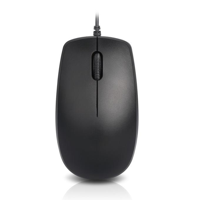 Мишка Delux M138, оптична (1000 dpi), USB, черна image