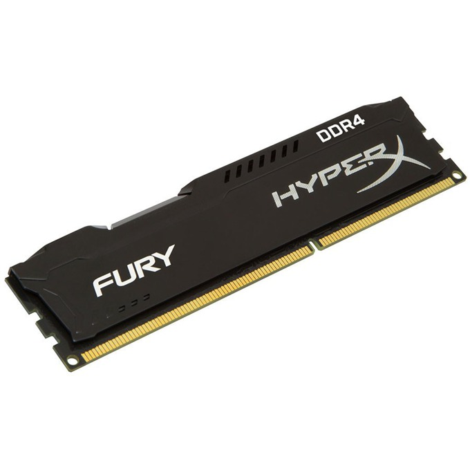 4GB DDR4 2400MHz, Kingston HyperX FURY, 1.2V image
