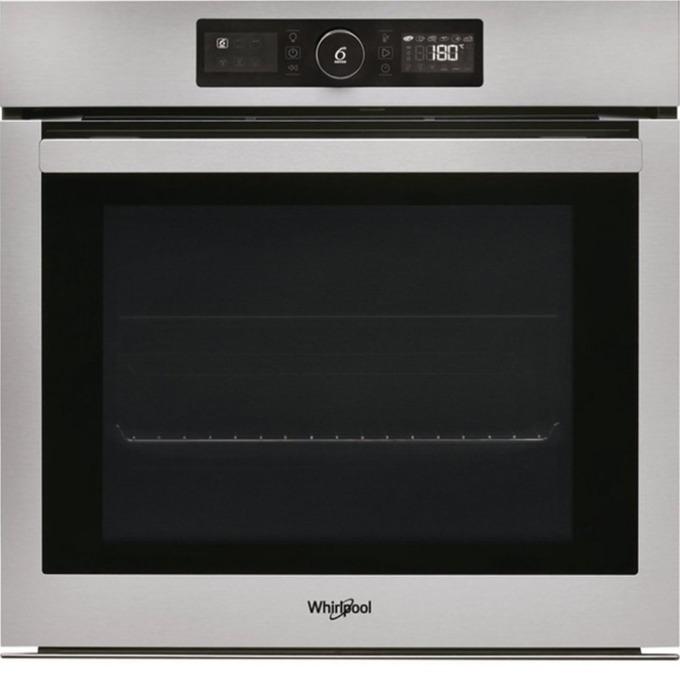 Фурна за вграждане Whirlpool AKZ9 6270 IX, клас А+, 73л. обем, 9 програми, инокс, пиролитично самопочистване, електронен таймер, охлаждане, 3 нива на печене, инокс image