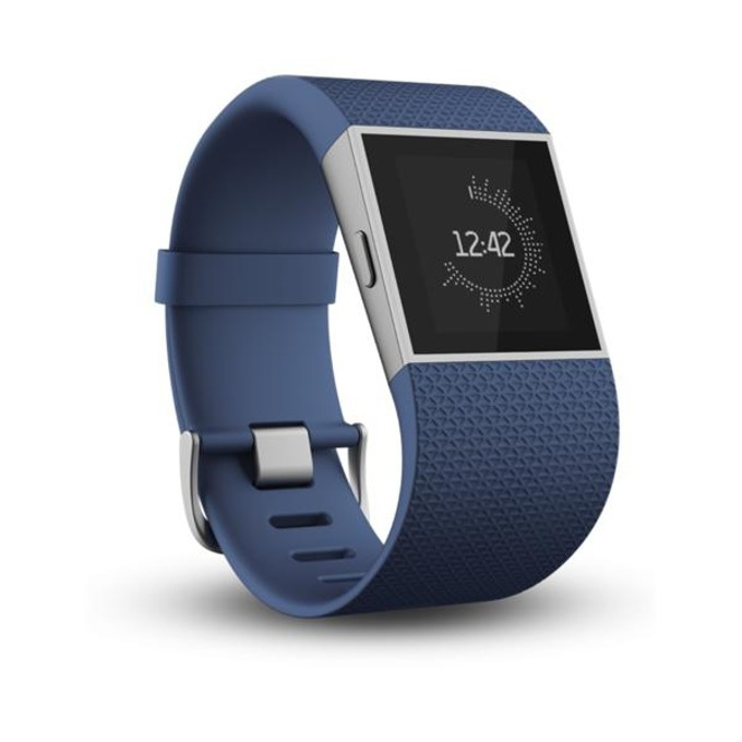 Смарт часовник Fitbit Surge Small Size, GPS, Bluetooth, Mac OS X 10.6 (или по-нова), iPhone 4S (или по-нова), iPad 3 gen. (или по-нова), Android and Windows devices, син image