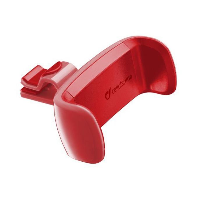 Стойка за кола Cellular Line, за въздуховод, универсална, червена image