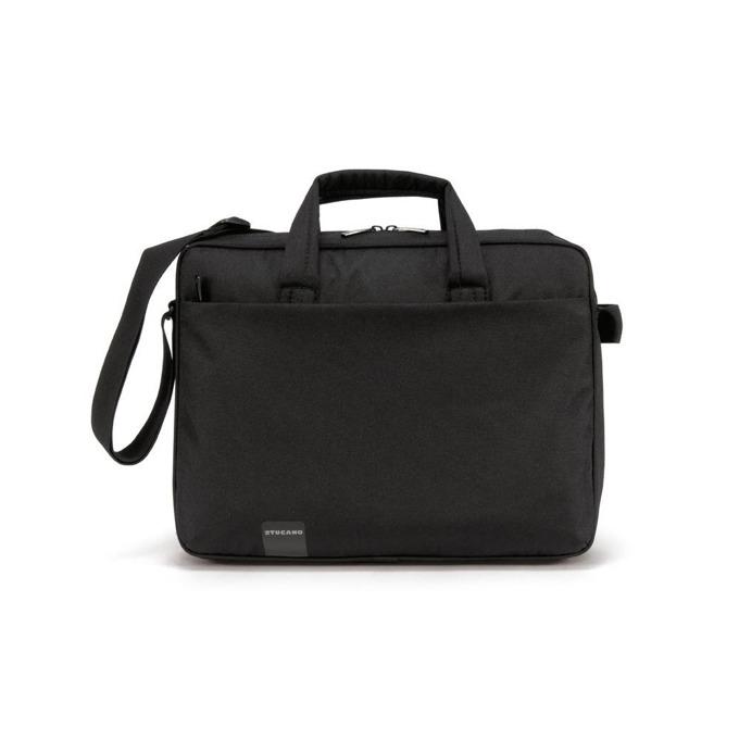 "Чанта за лаптоп TUCANO BSTP Start Plus, до 16.4"" (41.66 cm), полиестер, черна image"