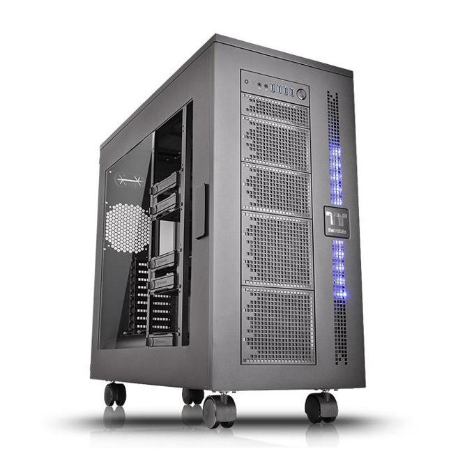 Кутия Thermaltake Core W100 Black CA-1F2-00F1WN-00, XL-ATX, 4 x USB 3.0, Audio In/Out, черна, без захранване  image
