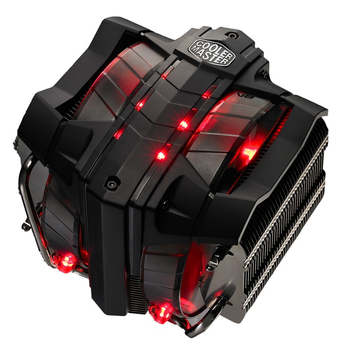 Охлаждане за процесор Cooler Master V8 ver.2, съвместимо с LGA 2011/1366/1156/1155/1151/1150/775 & AMD FM2/FM1/AM3(+)/AM2 image