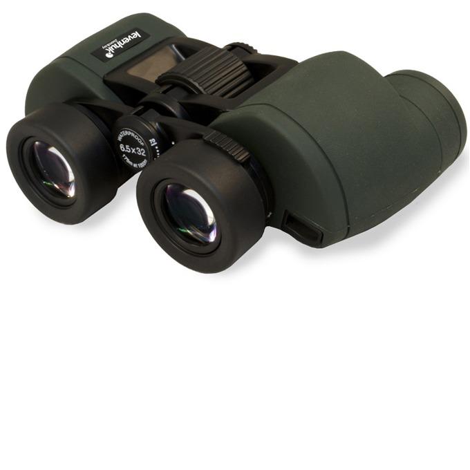 Бинокъл Levenhuk Sherman PRO 6.5x32, 6.5x оптично увеличение, 32mm диаметър на лещата, възможност за адаптиране към триножник image