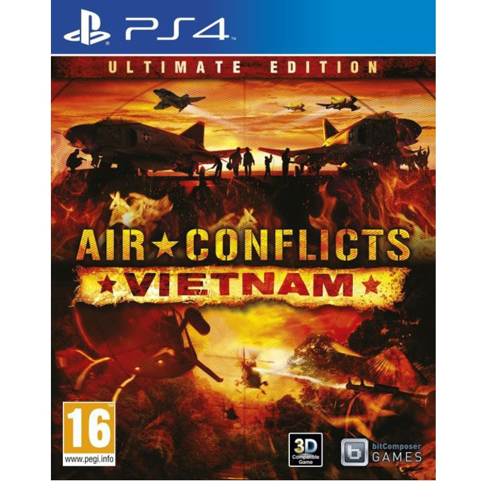 Игра за конзола Air Conflicts: Vietnam Ultimate Edition, за PS 4 image