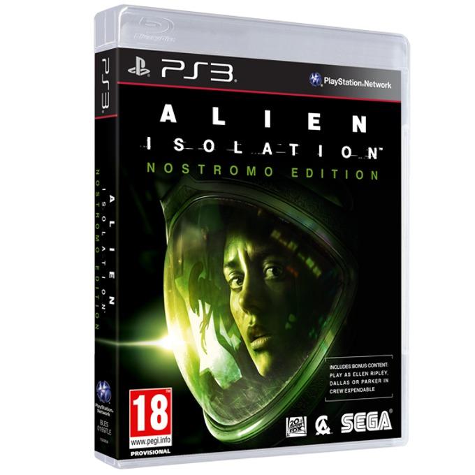 Игра за конзола Alien: Isolation - Nostromo Edition, за PlayStation 3  image