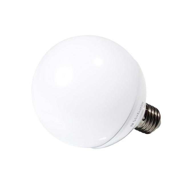LED крушка Verbatim 52611, E27, G95, 10W, 810 lm, 2700K, димираща  image