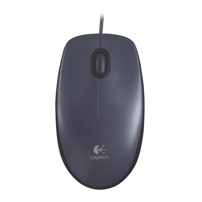 Мишка Logitech M100, оптична (1000dpi), черна, USB image