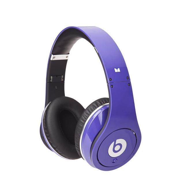Слушалки Beats by Dre Studio Over Ear, лилави, професионални, микрофон, сгъваеми, оптимизирани за iPhone/iPod/iPad image