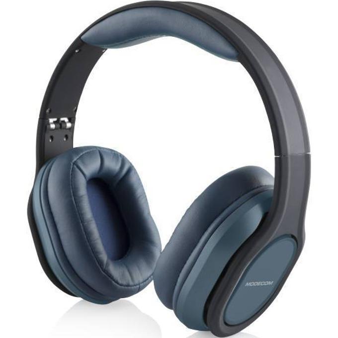 Слушалки Modecom MC-851 Comfort, микрофон, 3.5мм жак, 1.5м кабел, сини image