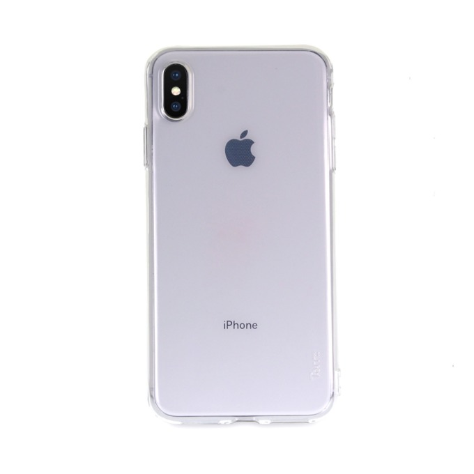 Kалъф за Apple iPhone XS Max, термополиуретанов, Torrii BonJelly Case IP1865-BON-01, прозрачен image