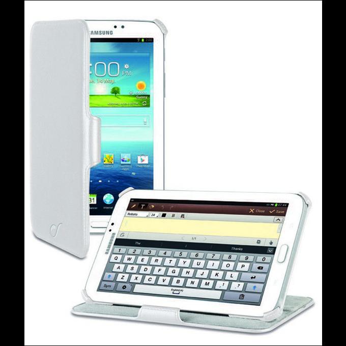 Калъф за таблет Samsung Galaxy tab 3, P3200, 7', стойка, бял image