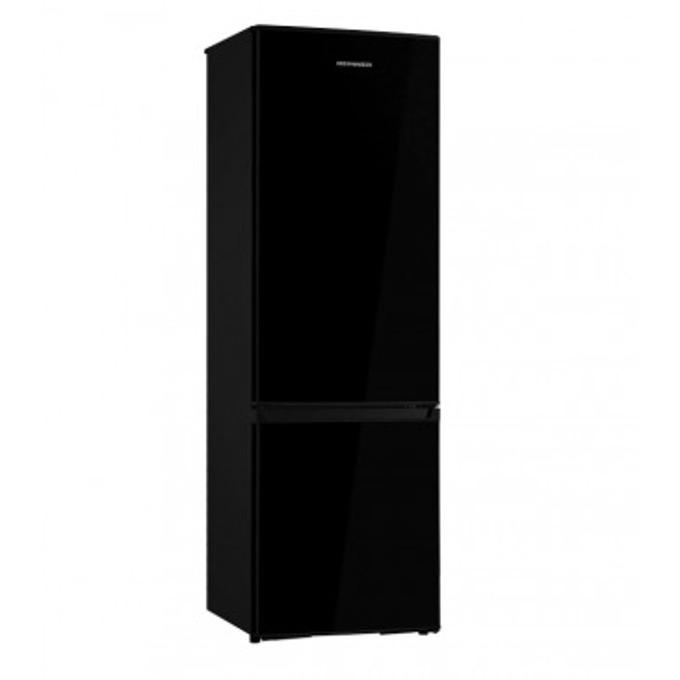 Хладилник с фризер Heinner HC-H273BKF+, 273 л. общ обем, свободностоящ, 248 kWh годишно, черен  image