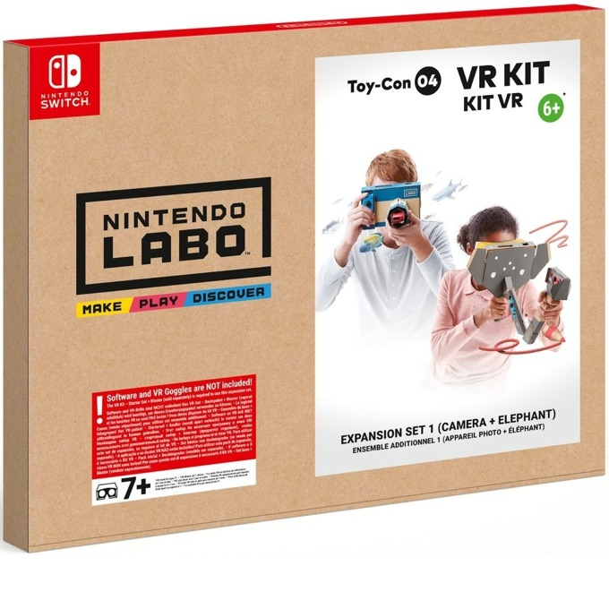 Nintendo LABO - VR Kit Expansion Set 1 product