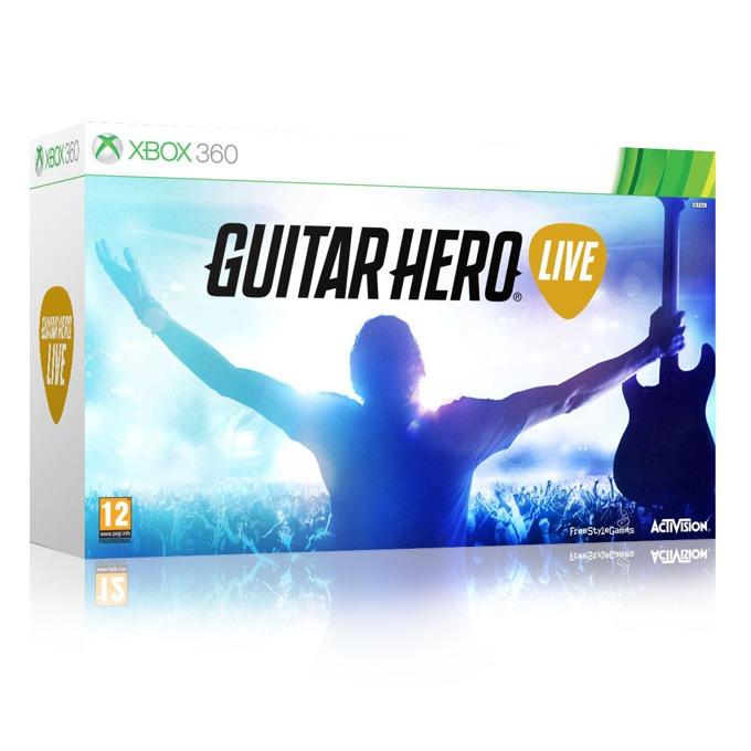 Игра за конзола Guitar Hero Live Bundle, включен контролер, за XBOX360 image