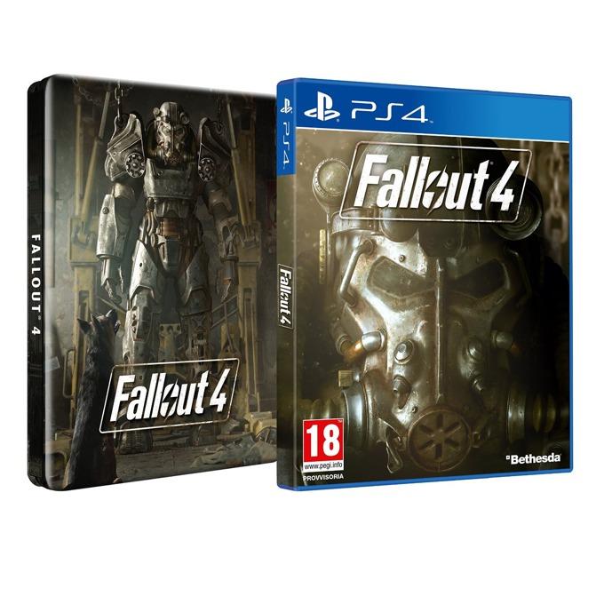 Игра за конзола Fallout 4 Steelbook Edition, за PS4 image
