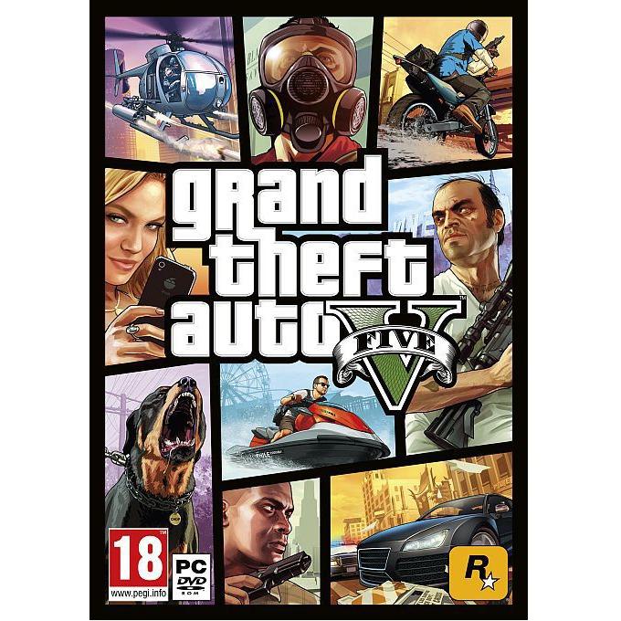 Игра GTA: Grand Theft Auto V, за PC image