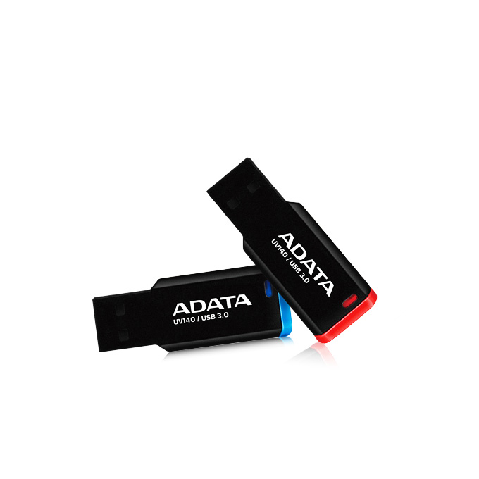32GB USB Flash Drive, A-Data UV140, USB 3.0, черна  image