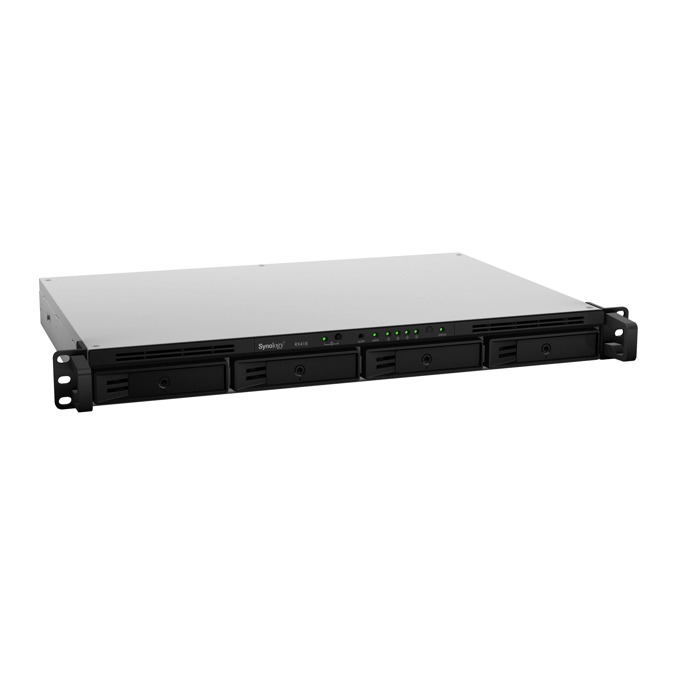 "Synology Expansion Unit RX418 EW, 4x bay 2.5""/3.5"" SATA HDD/SSD, 1x eSATA, съвместим с RS818(RP)+/RS815(RP)+/RS816/RS815 image"