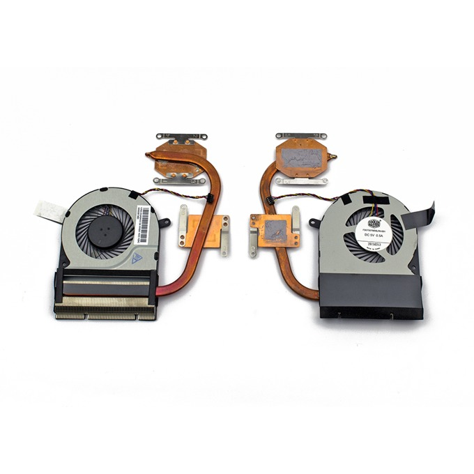 Вентилатор с охладител за лаптоп Toshiba Satellite C70-C C75-C 4pin 5V 0.5A image
