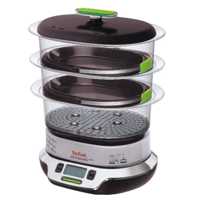 Уред за готвене на пара Tefal VS4003, Vitacuisine Compact, вместимост 10.3л, 2 000W image