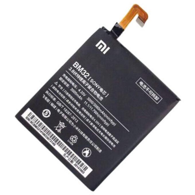 Батерия (оригинална) за Xiaomi RedMi 4, Xiaomi BM32, 3000mAh/4.35V, (bulk) image