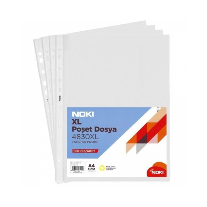 Джоб Exxo Extra, за документи с формат до А4, дебелина 50 микрона, прозрачен, цената е за 1бр. (продава се в опаковка от 100бр.) image