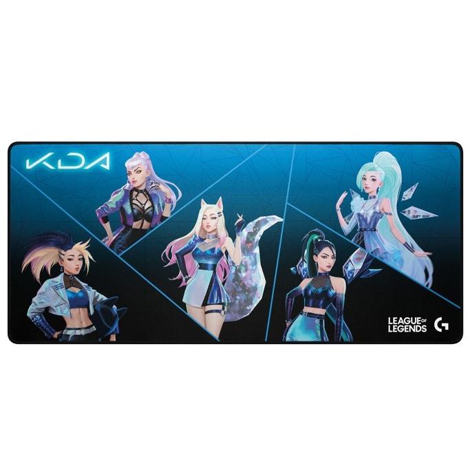Подложка за мишка Logitech G840 K/DA (943-000457), гейминг, черна, 900 x 400 x 3 mm image