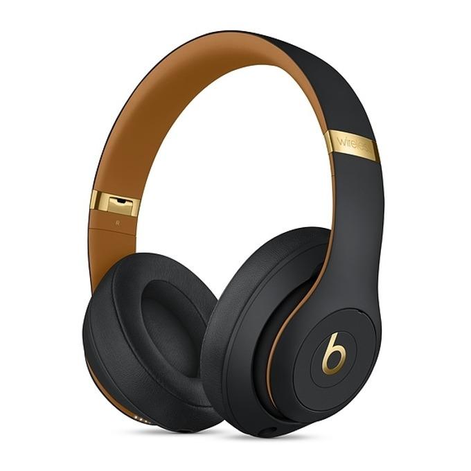 Слушалки Beats Studio3 Wireless Skyline Collection, Bluetooth, микрофон, до 40 часа работа, ANC, черни image