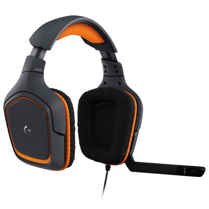 Logitech G231 Prodigy Gaming Headset 981-000627