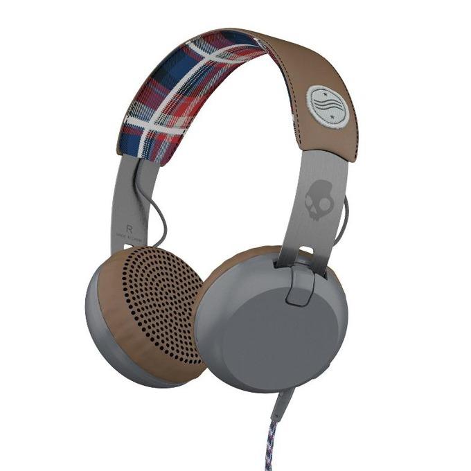 Слушалки Skullcandy Grind Headphones Americana, дизайнерски, микрофон image