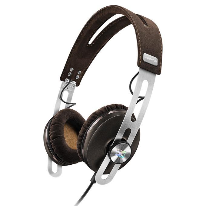 Слушалки Sennheiser Momentum On-Ear I (M2 OEI), микрофон, 16Hz-22kНz честотен диапазон, кафяви image