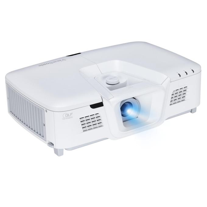 Проектор VIEWSONIC PG800HD, DLP, Full HD(1920x1080), 5000:1, 5000 lm, VGA, HDMI, RS232, S-Video, RCA, USB, LAN, бял image