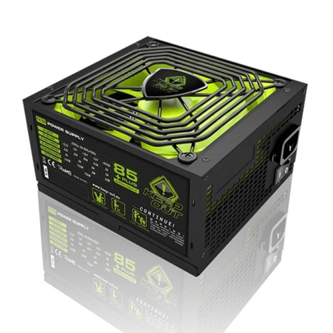 Захранване KEEPOUT FX700MU, 700W, Active PFC, 85 plus, 140мм вентилатор image