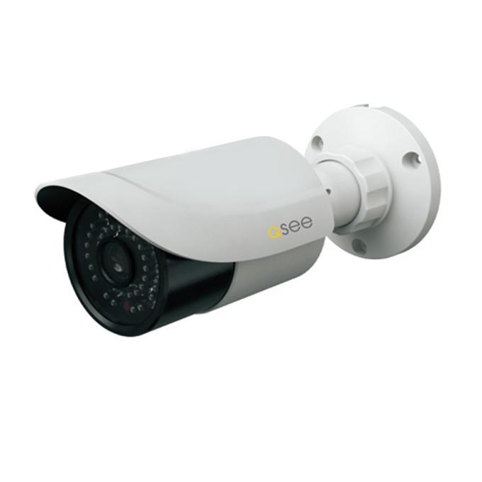 """AHD камера Q-See QTH7080B, насочена """"bullet"""", 2 Mpix(1920x1080@25fps), 3.6mm обектив, IR осветеност (до 30м), външна, IP6 защита, вандалоустойчива IP66 image"""