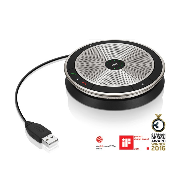 Конферентна слушалка Sennheiser SP 10, 1.0, предназначена за разговори, USB image