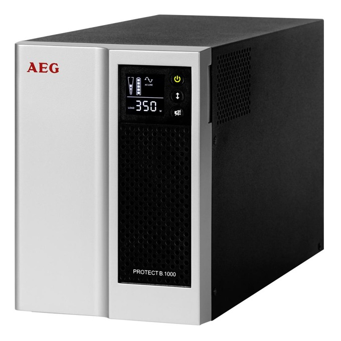 UPS AEG Protect B.1000, 1000VA/700W, Line-Interactive, Mini Tower image