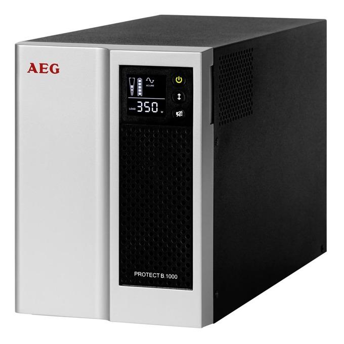 UPS AEG Protect B.1000, 1000VA/700W, Line-Interactive, Mini Tower image