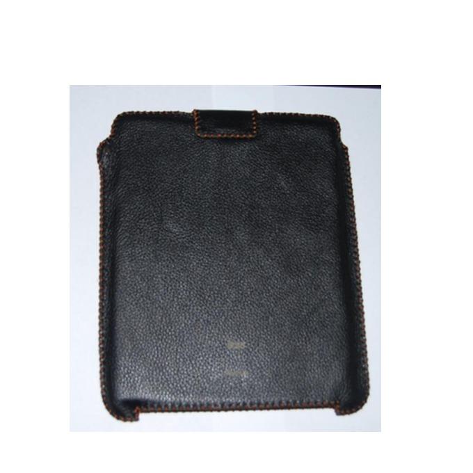 """Калъф """"джоб"""" HardCE iSoft, черен, кожен (естествена кожа), за iPad (първо поколение) image"""