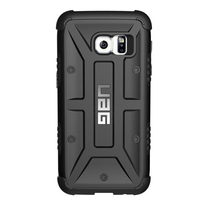 Хибриден кейс Urban Armor Gear Scout, Galaxy S7, удароустойчив, черен image