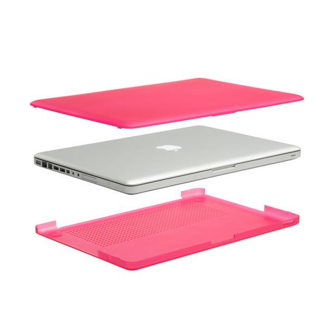 """Протектор InCase Hardshell, поликарбонат, за MacBook Pro 15"""", розов image"""