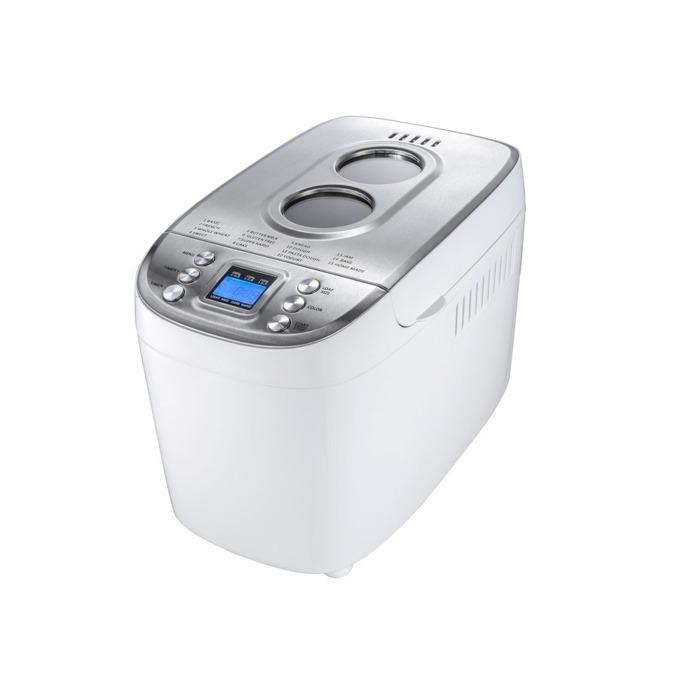 "Хлебопекарна Finlux FBM-1683W, 850W, 15 пpoгpaми, 2 бъpĸaлĸи, вмecтимocт до 1500g, функция ""пауза"", бяла image"
